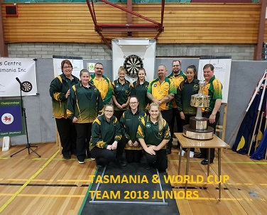 Tassie Team with World cup